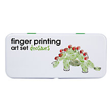 Buy Dinosaur Finger Paints Art Set Online at johnlewis.com