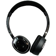 Buy SuperTooth Melody On-Ear Wireless Headphones with Microphone, Black Online at johnlewis.com