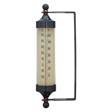 Buy Garden Trading Slate Tube Thermometer, Small Online at johnlewis.com