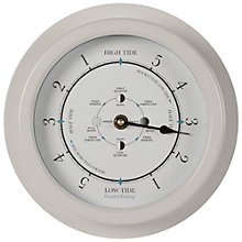 Buy Garden Trading Tide Clock, Chalk Online at johnlewis.com