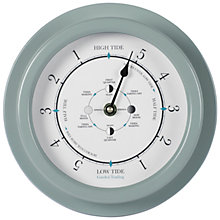 Buy Garden Trading Tide Clock, Shutter Blue Online at johnlewis.com