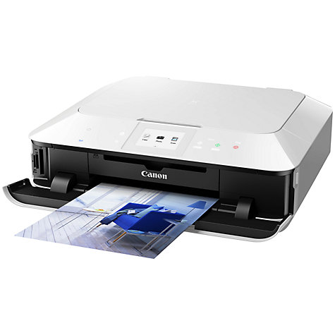 Buy Canon Pixma MG6350 Wireless All-In-One Printer, White Online at johnlewis.com