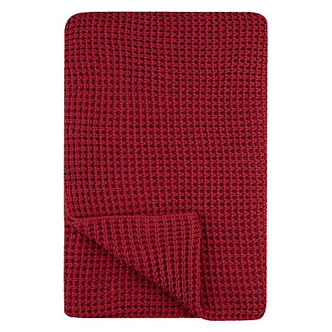 Buy House by John Lewis Rib Stitch Throw Online at johnlewis.com