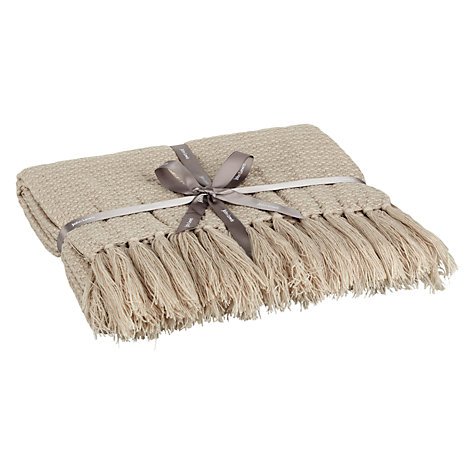 Buy Bronte Herringbone Throw Online at johnlewis.com
