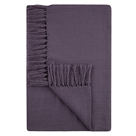 Buy John Lewis Basket Weave Throw Online at johnlewis.com