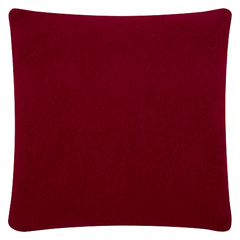 Buy Donna Wilson Knitted Squirrel Cushion, Red Online at johnlewis.com
