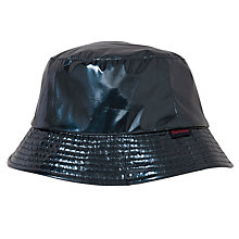 Buy Barbour Trench Rain Hat, Navy, Medium Online at johnlewis.com