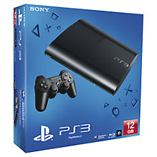 Buy Sony PlayStation 3 Super Slim, 12GB with LittleBigPlanet Karting, Sackboy Keyring and HDMI Cable Online at johnlewis.com