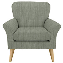Buy House by John Lewis Carrie Armchair, Porto Blue Grey Online at johnlewis.com