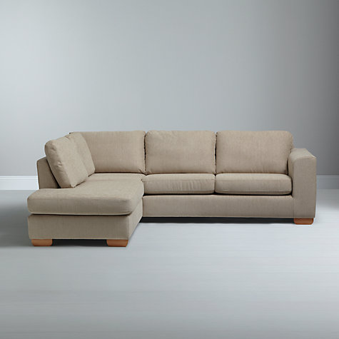 Buy john lewis felix lhf corner chaise end sofa with light for Chaise end sofas