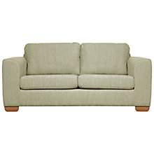 Buy John Lewis Felix Small Sofa with Light Legs, Elena Mocha Online at johnlewis.com