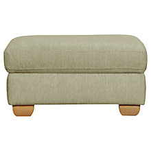 Buy John Lewis Felix Footstool, Toast/ Light Leg Online at johnlewis.com