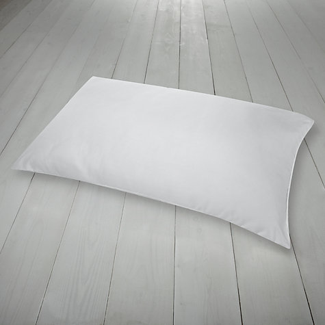 Buy John Lewis Value Microfibre Standard Pillows, Soft/Medium Support, Pair Online at johnlewis.com
