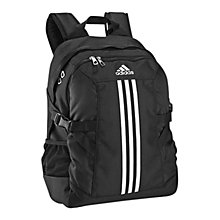 Buy Adidas Power II Backpack, Black Online at johnlewis.com
