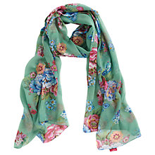 Buy Joules Wensley Patterned Polyester Chiffon Scarf Online at johnlewis.com