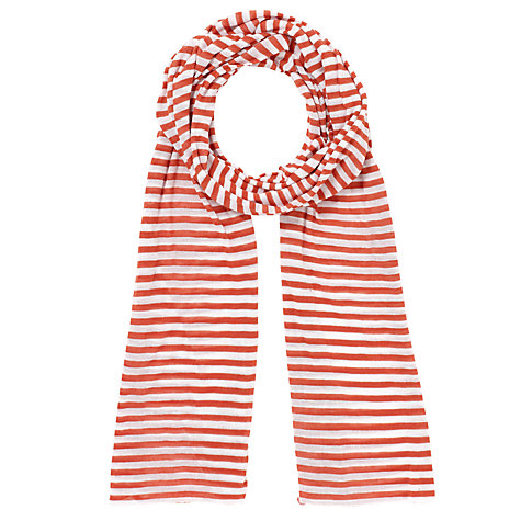 Buy Kin by John Lewis Jersey Stripe Scarf Online at johnlewis.com