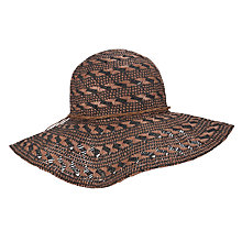 Buy John Lewis Aztec Floppy Hat Online at johnlewis.com