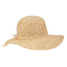 Buy John Lewis Crochet Floppy Hat Online at johnlewis.com