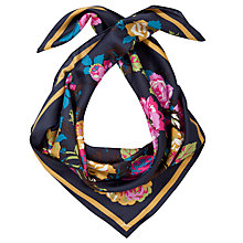 Buy Joules Bloomfield Silk Square Scarf Online at johnlewis.com