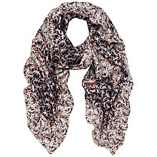 Buy Mulberry Gecko Print Silk Scarf, Multi Online at johnlewis.com