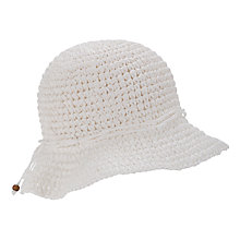 Buy John Lewis Crochet Cloche Paper Hat Online at johnlewis.com