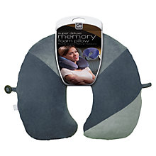 Buy Go Travel Memory Bean Pillow Online at johnlewis.com