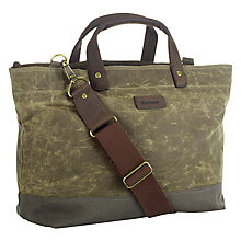 Buy Barbour Amphion Waxed Bag Online at johnlewis.com