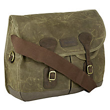 Buy Barbour Beeswax Tarras Messenger Bag Online at johnlewis.com
