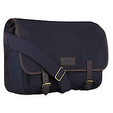 "Buy Barbour Ballistic Nylon 15"" Laptop Messenger Bag Online at johnlewis.com"