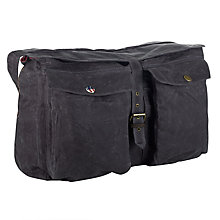 Buy Barbour Steve McQueen™ Collection Wax Retriever Bag Online at johnlewis.com