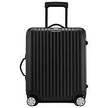 Buy Rimowa Salsa 4-Wheel Cabin Suitcase, Black Online at johnlewis.com