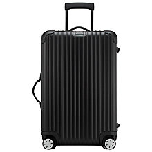 Buy Rimowa Salsa 4-Wheel Medium Suitcase, Black Online at johnlewis.com