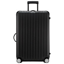 Buy Rimowa Salsa 4-Wheel Large Suitcase, Black Online at johnlewis.com