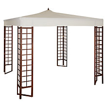 Buy John Lewis Gazebo, Acacia Wood Online at johnlewis.com