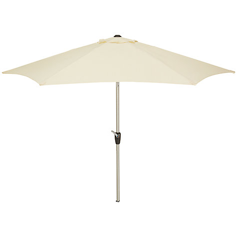 Buy John Lewis Aluminium Wind-Up Parasol, Dia.2.75m Online at johnlewis.com