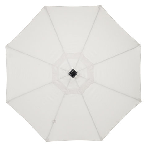 Buy John Lewis Solar Light Parasol 300cm Online at johnlewis.com
