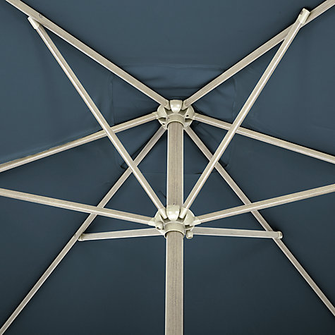 Buy John Lewis Rectangular Wind-Up Parasol, Dia.3m Online at johnlewis.com