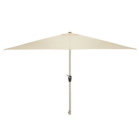 Buy John Lewis Rectangular Parasol, 300cm Online at johnlewis.com