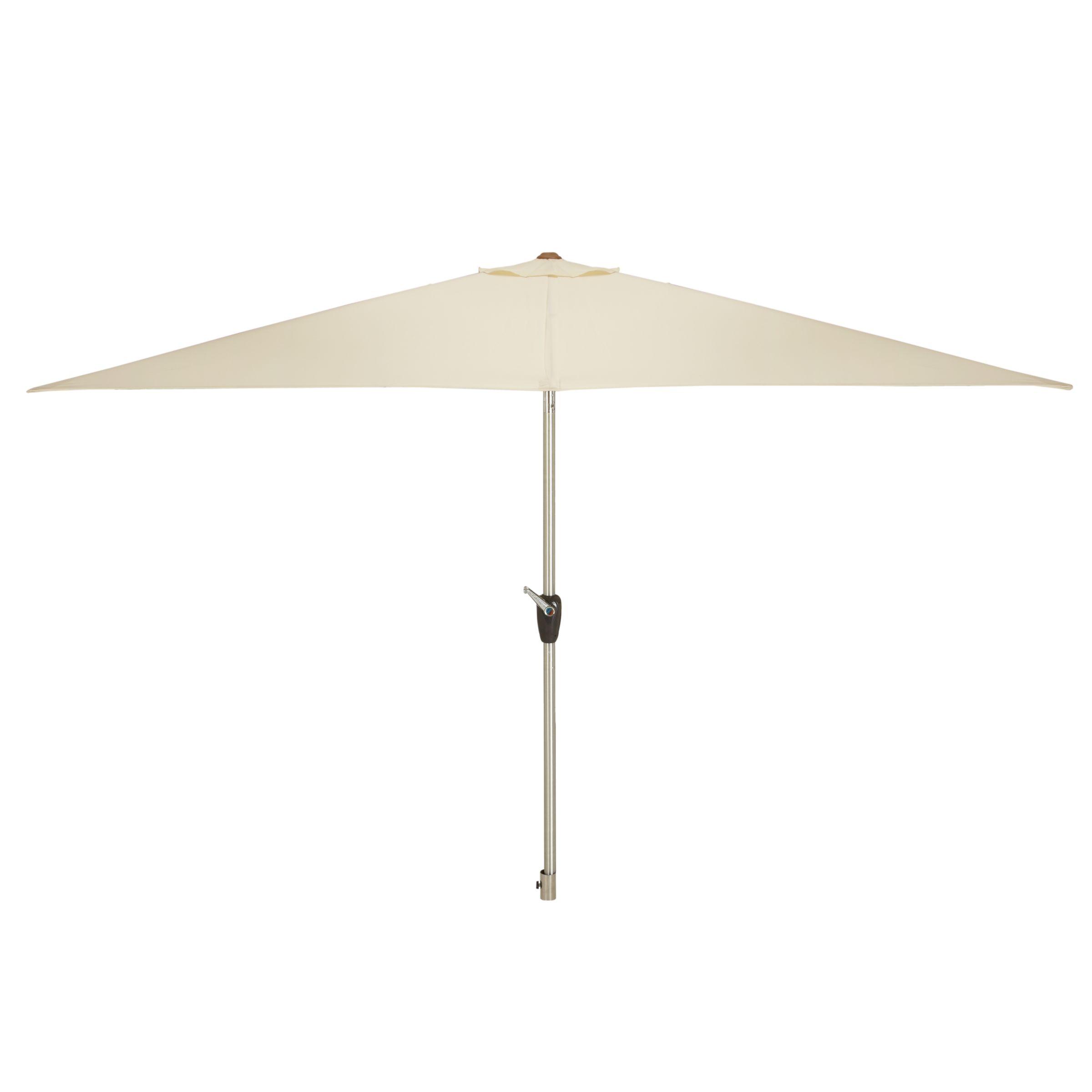 John Lewis Rectangular Parasol, 300cm