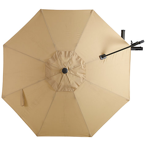 Buy John Lewis Freestanding Rotate Parasol, Dia.3m Online at johnlewis.com