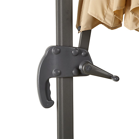 Buy John Lewis Freestanding Rotate Parasol, 300cm Online at johnlewis.com