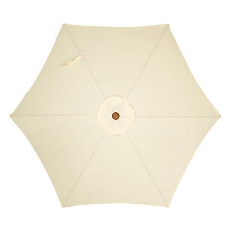 Buy John Lewis Wood-look Parasol, 200cm Online at johnlewis.com
