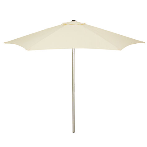 Buy John Lewis Aluminium Wind-Up Parasol, Dia.2m Online at johnlewis.com