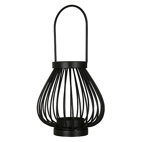 Buy John Lewis Jessica Outdoor Lantern, H11cm Online at johnlewis.com