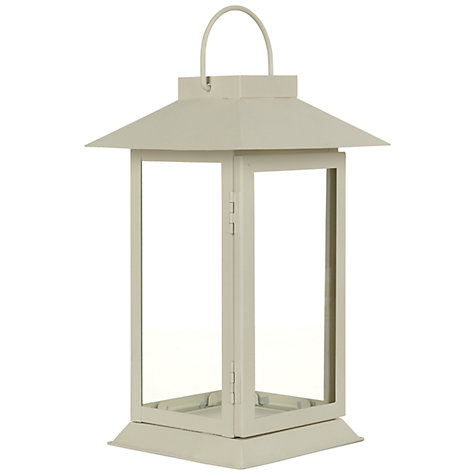 Buy John Lewis Hoy Outdoor Lantern, H24cm Online at johnlewis.com