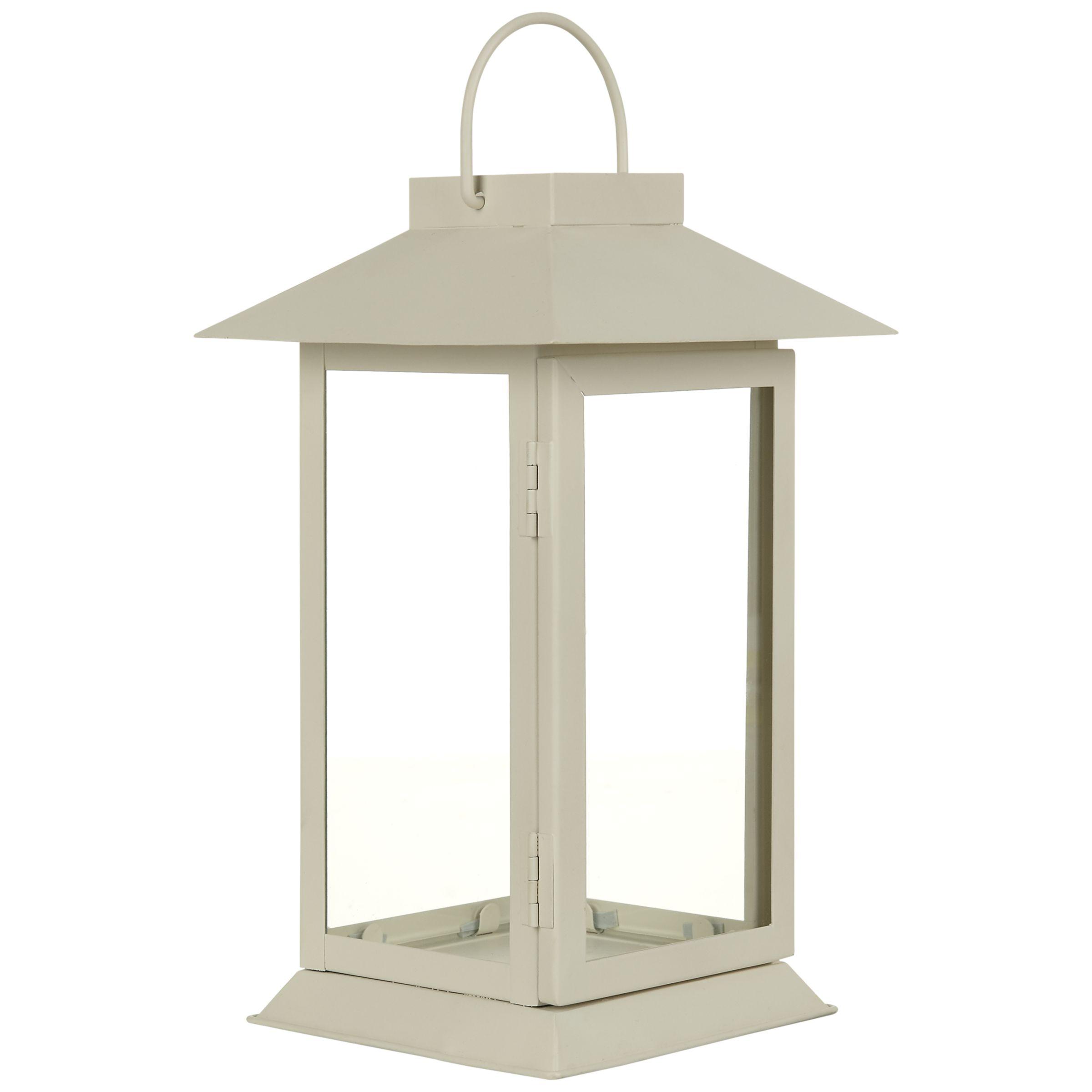 John Lewis Hoy Outdoor Lantern, H24cm