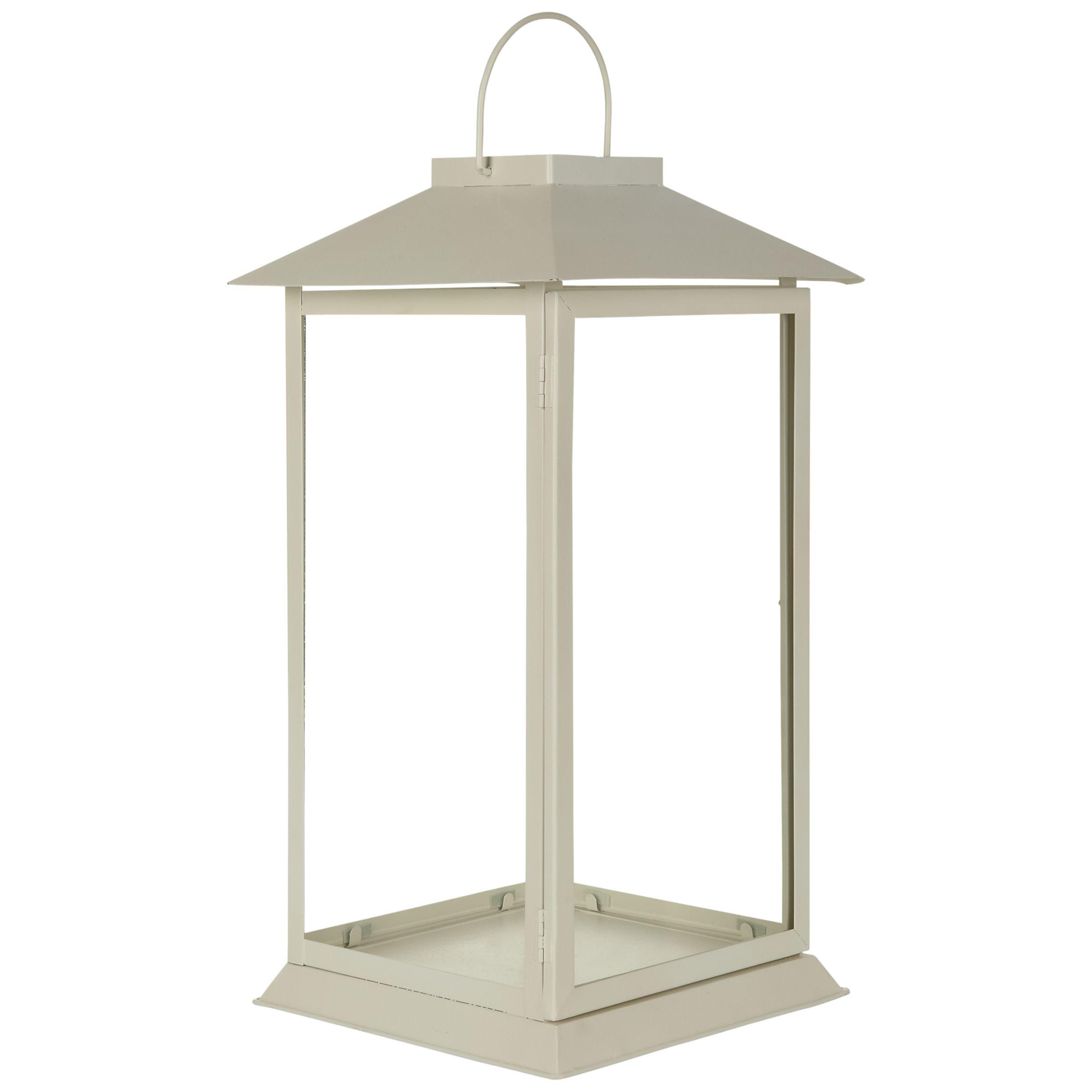 John Lewis Hoy Outdoor Lantern, H45cm