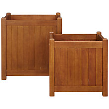 Buy John Lewis Naples Planters, Set of 2 Online at johnlewis.com