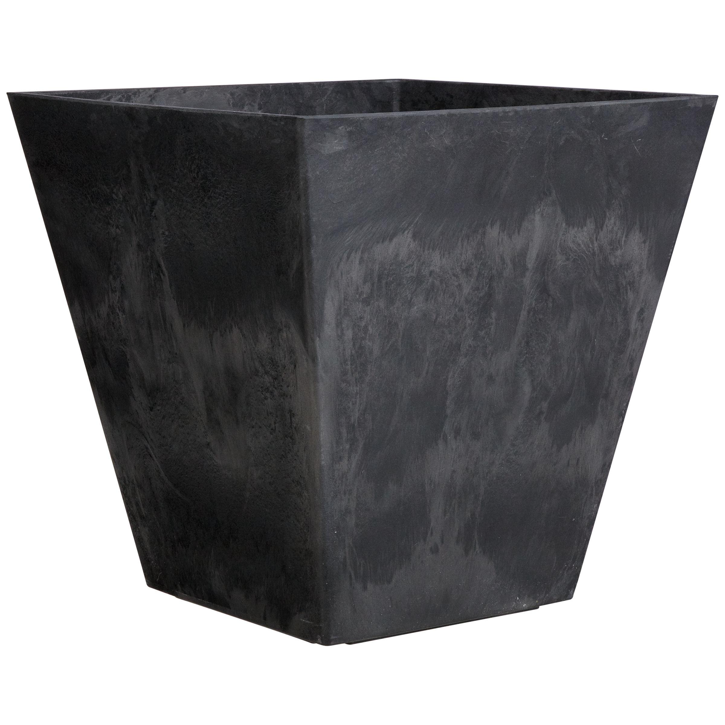 Artstone Artstone Ella Planter, Black, H40cm