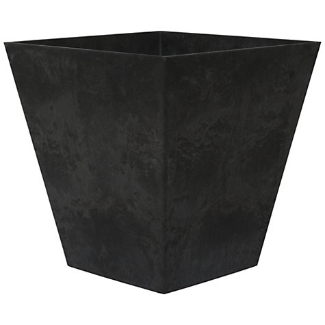 Buy Artstone Ella Vase Black, H70cm Online at johnlewis.com